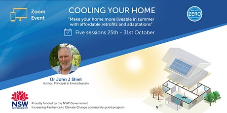 Cooling your home -  retrofits and adaptations for summer heat tickets