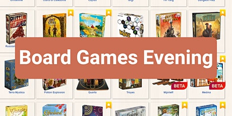Digital Board Games Evening tickets