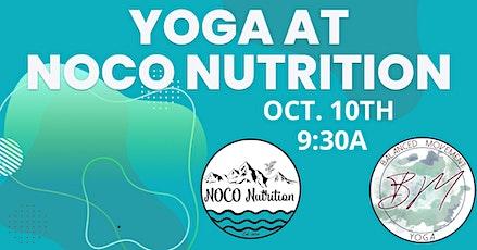 Yoga @ NOCO Nutrition tickets