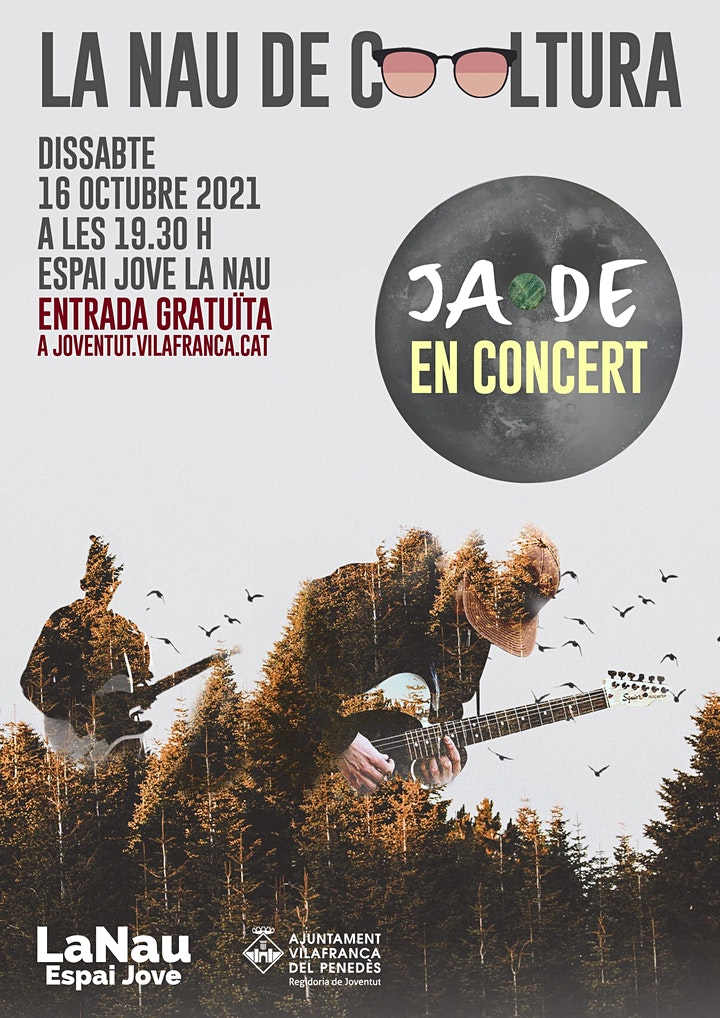 Imagen de La Nau de Cooltura - JADE En concert!