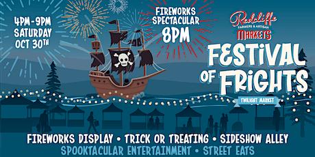 Redcliffe Markets Festival of Frights Twilight Market tickets