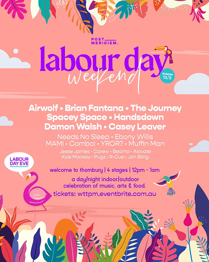 Labour Day Weekend - Welcome To Thornbury image