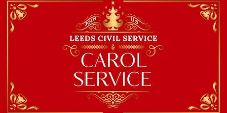 Leeds Civil Service Carol Service tickets