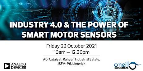 Industry 4.0 & the Power of Smart Motor Sensors - Seminar & Demonstration tickets