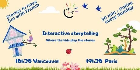 Kaz à Kids  - Have fun in French with Interactive Storytelling - Online tickets