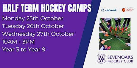 Sevenoaks Hockey Club October Half Term Camps tickets
