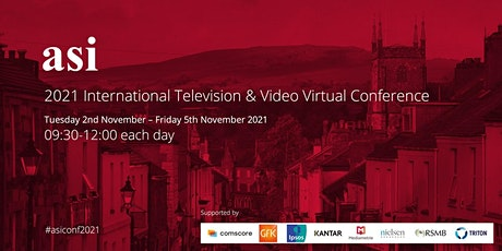 2021 asi International Television & Video Virtual Conference tickets