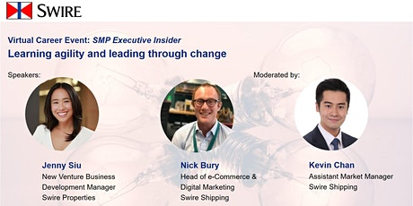 [SMP Executive Insider] Learning agility and leading through change tickets