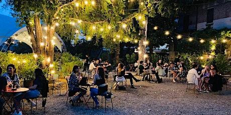 """PARTY DI CHIUSURA """"GIARDINO VENTURA""""  Aperitivo in Giardino con Piano Bar biglietti"""