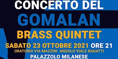 Gomalan Brass in Concerto biglietti