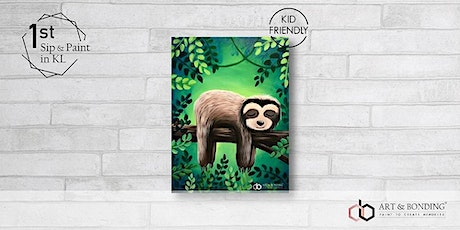 Sunday Sip & Paint : The Lazy Sloth tickets