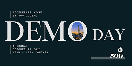 Accelerate Aichi Demo Day - Growth Program tickets