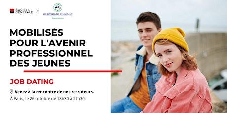 Job Dating à Paris : décrochez un emploi ! billets