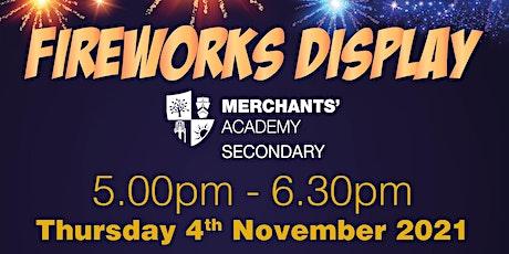 Firework Display - Merchants' Academy tickets