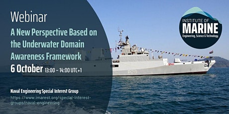 WEBINAR: A New Perspective on the Underwater Domain Awareness Framework tickets