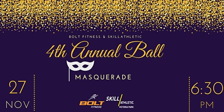 BOLT FITNESS & SKILLATHLETIC 4TH ANNUAL BALL tickets