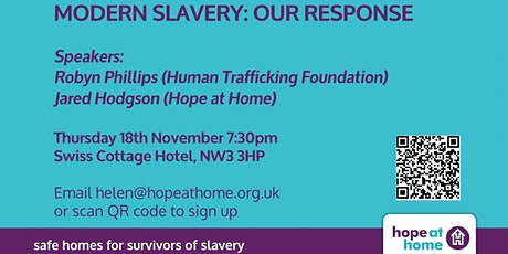 Modern Slavery: Our Response tickets