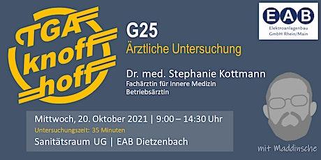 G25 Tickets