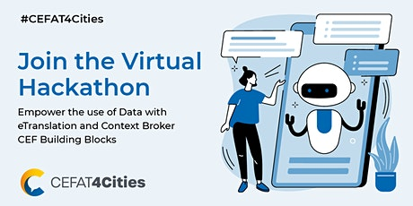 CEFAT4Cities  Hackathon  - Info Session tickets
