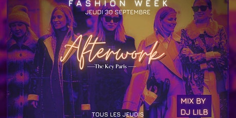 L'AFTERWORK the KEY Paris billets