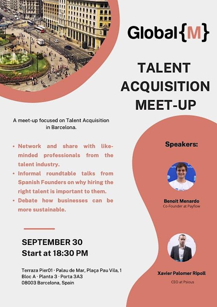 Talent Acquisition Meet-up - Barcelona image