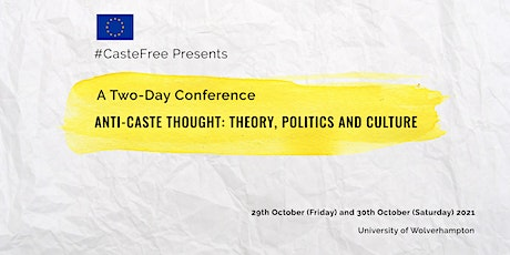 """""""Anti-Caste Thought: Theory, Politics and Culture"""" tickets"""