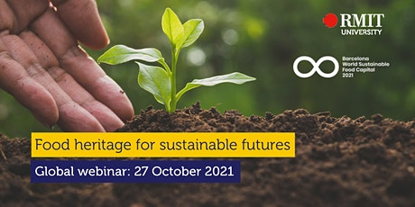 Food heritage for sustainable futures tickets