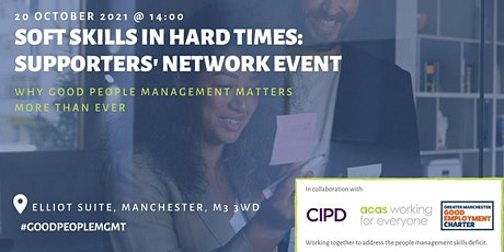 Soft Skills in Hard Times: In-Person Supporters' Network Event tickets