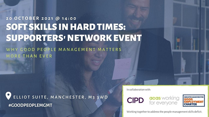 Soft Skills in Hard Times: In-Person Supporters' Network Event image