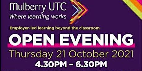 Mulberry UTC Open Evening tickets
