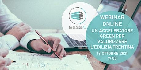 Webinar Polo Edilizia 4.0 biglietti