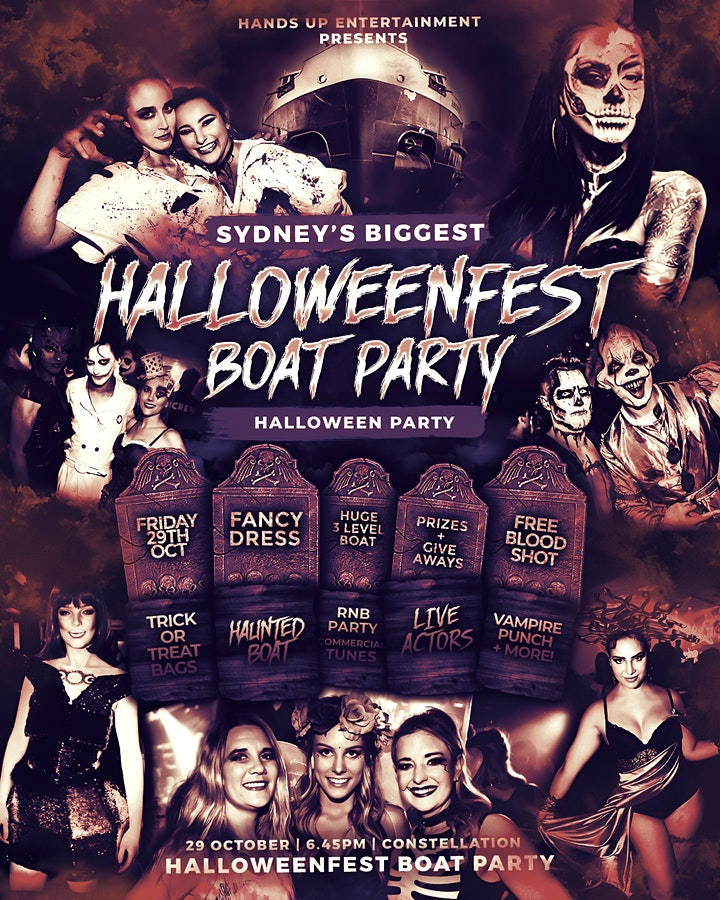 Halloweenfest Boat Party 2021 image