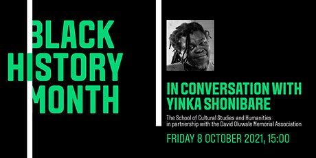 In conversation with Yinka Shonibare tickets