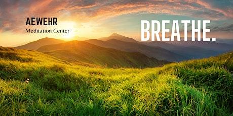 Mindful Breath Meditation Class tickets