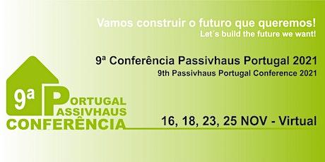 9ª Conferência Passivhaus Portugal 2021 ingressos
