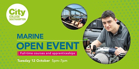 City College Southampton Marine Open Event - 12th October tickets
