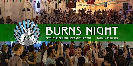 Burns Night Ceilidh tickets