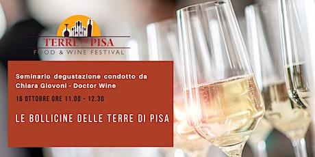 Le Bollicine delle Terre di Pisa - Chiara Giovoni – Doctor Wine biglietti