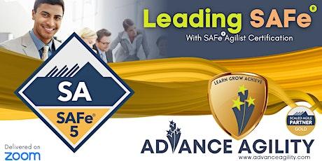 Leading SAFe (Online/Zoom) Nov 13-14, Sat-Sun, Sydney  9am-5pm , AET tickets