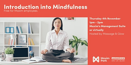 Introduction into Mindfulness tickets