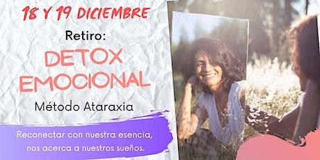 Retiro: Detox Emocional (método Ataraxia) tickets