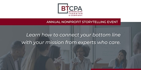 BTCPA's Annual Storytelling Event tickets