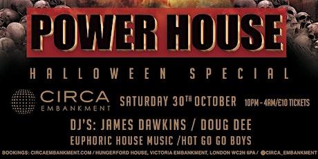 PowerHouse Halloween tickets