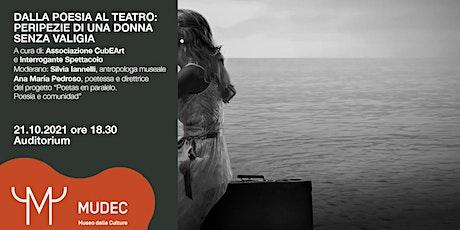 Dalla Poesia al Teatro: peripezie di una donna senza valigia biglietti