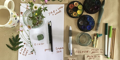 DRAWING PLANTS ONLINE  With The People's Herbarium tickets