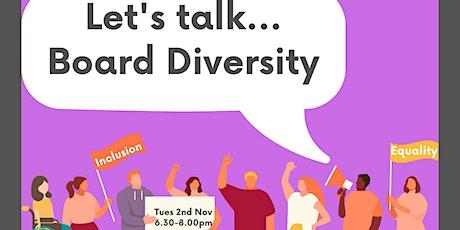 Trustees Week: Let's Talk... Board Diversity tickets