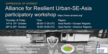 Alliance for Resilient Urban-SE-Asia participatory workshop tickets