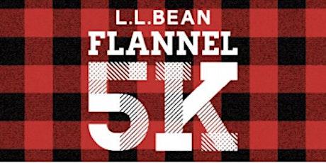 L.L.Bean Flannel 5k tickets