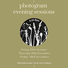 Photogram Evening [December] tickets