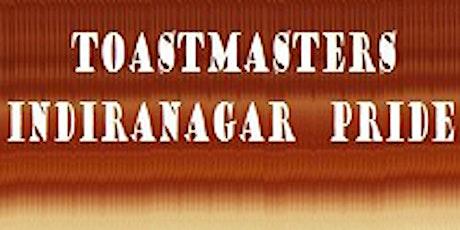 Toastmasters Indiranagar Pride CONTESTS tickets